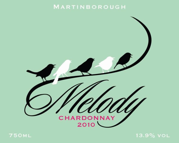 Martinborough wine label design