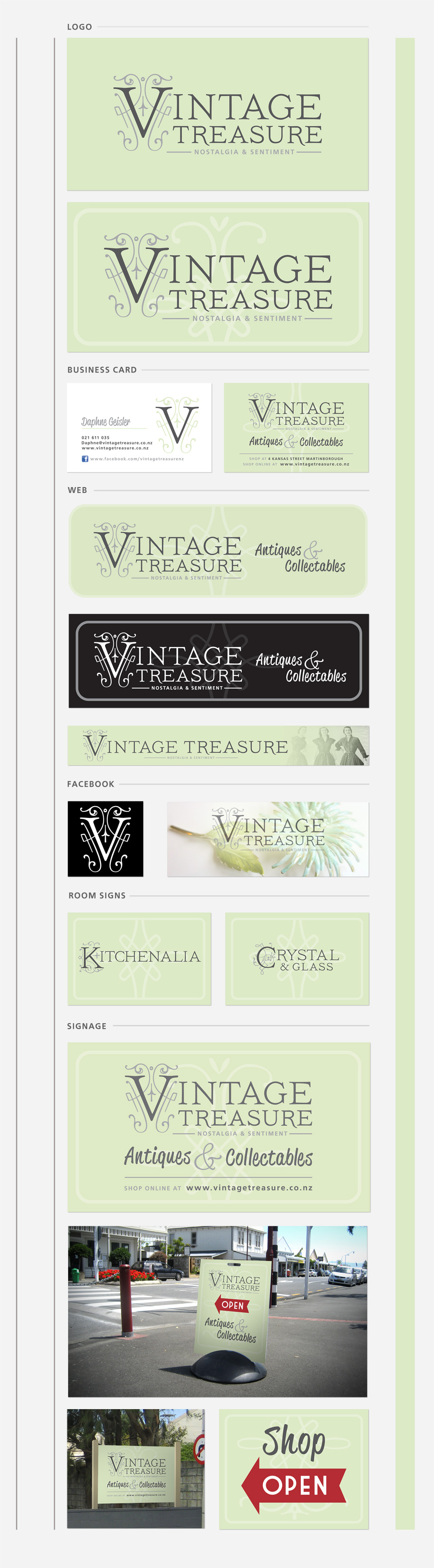Vintage Treasure rebrand