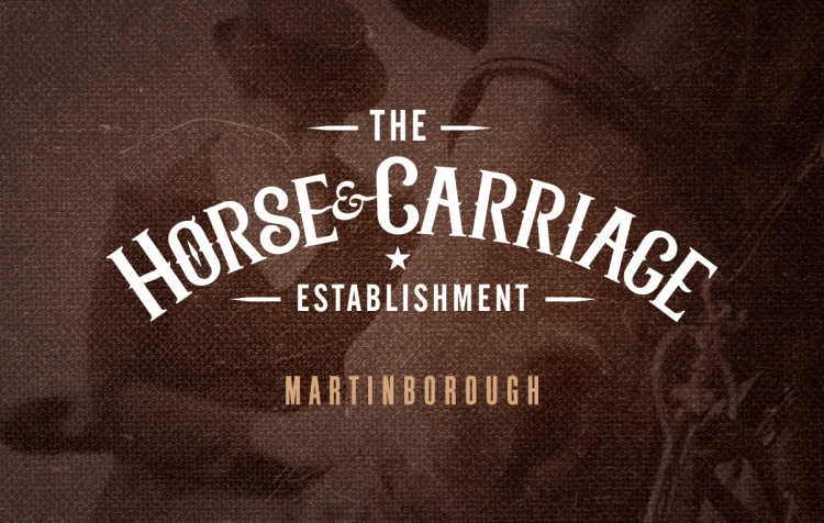 Horse and Carriage business card back