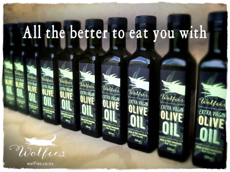 Wolfies Extra Virgin Olive Oil