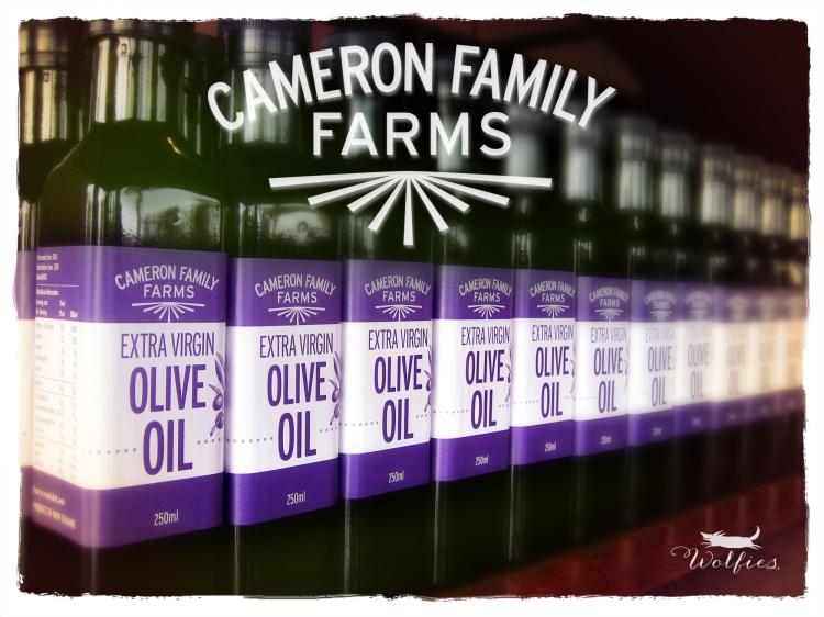 CFF Olive oil bottles
