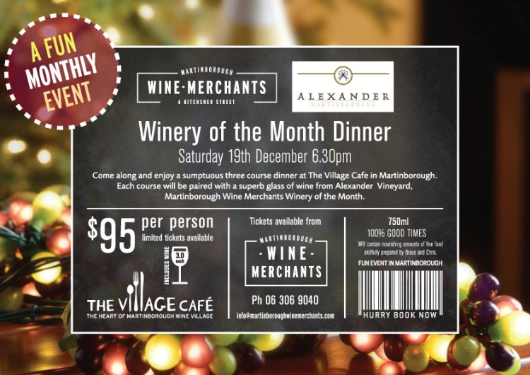 Winery of the Month December 2015 web